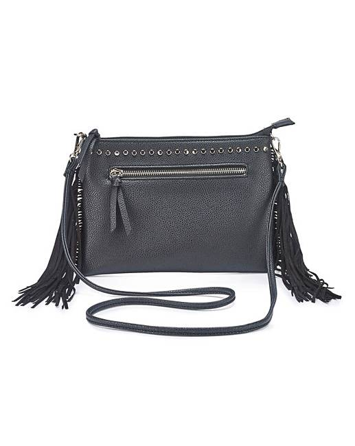 Simply Be Fringing Shoulder Bag bGp5wBZi2