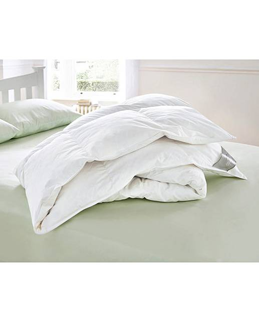 Goose Feather Down Pillows Pack Of 4 House Of Bath