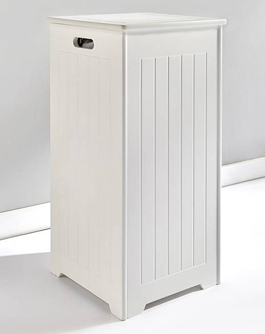 new england slimline laundry hamper fashion world. Black Bedroom Furniture Sets. Home Design Ideas