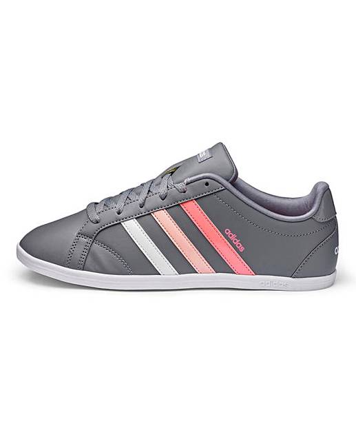 adidas coneo leather ladies trainers
