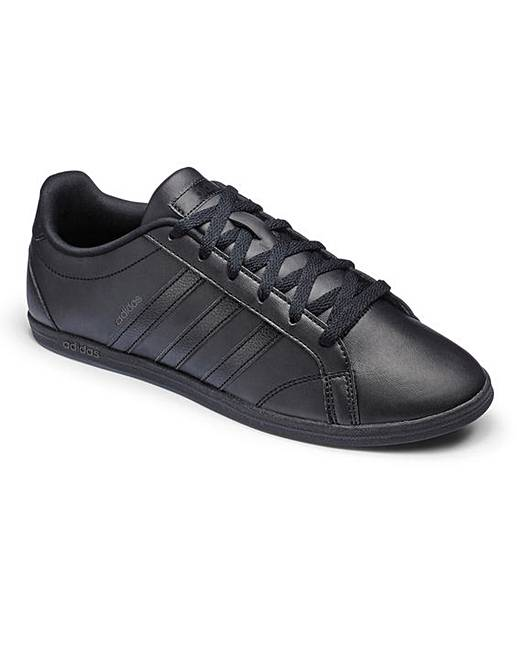 adidas coneo qt leather ladies trainers
