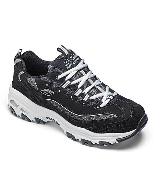 skechers d 39 lites me time womens trainers simply be. Black Bedroom Furniture Sets. Home Design Ideas