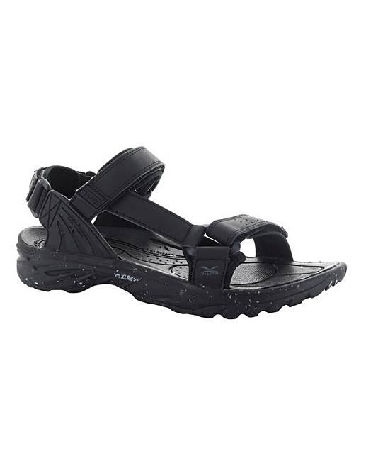 Hi-Tec V-LITE WILD-LIFE VYPER - Walking sandals - black UZvqgx