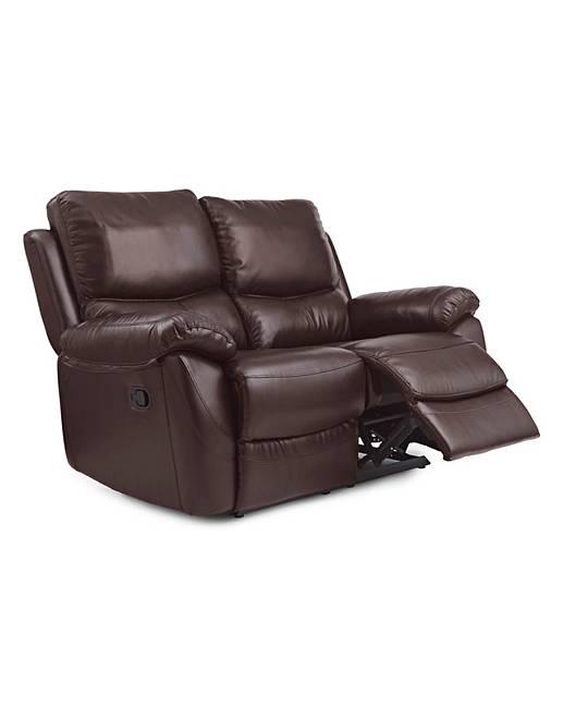 Bentley Leather 2 Seater Recliner Sofa