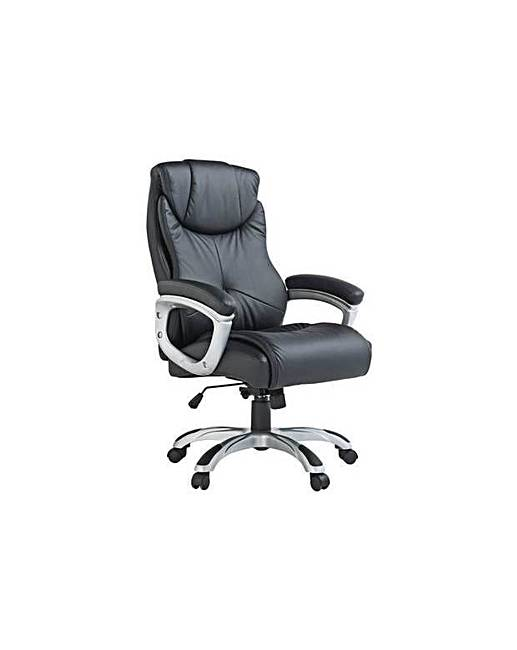 X Rocker Executive Height Adjustable Office Chair   Black