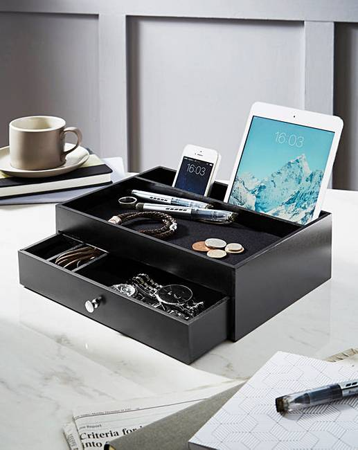 Valet Drawer And Charging Station