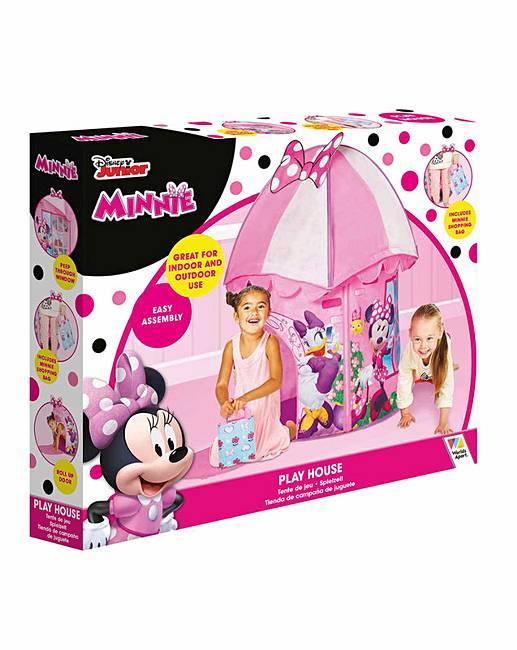 sc 1 st  JD Williams & Minnie Mouse Happy Helpers Play Tent   J D Williams