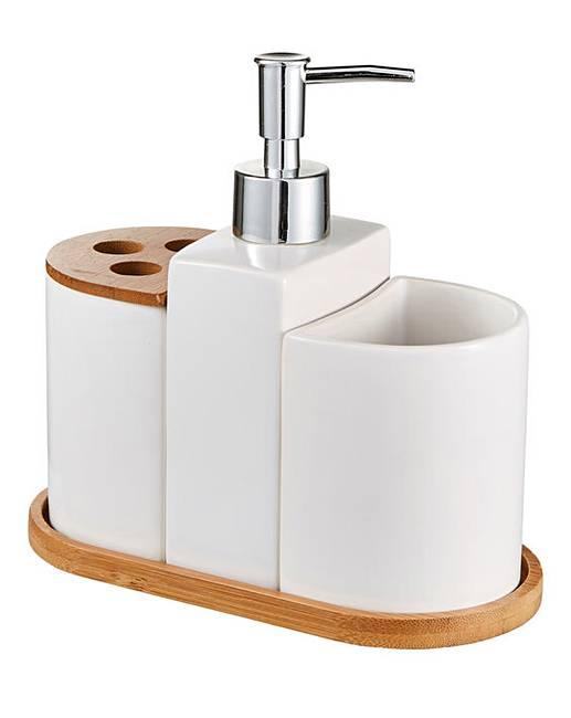Aria 3 Piece Bathroom Accessory Set