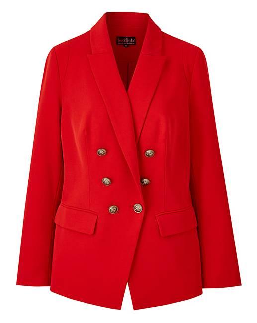 Image showing LovedRobe red blazer
