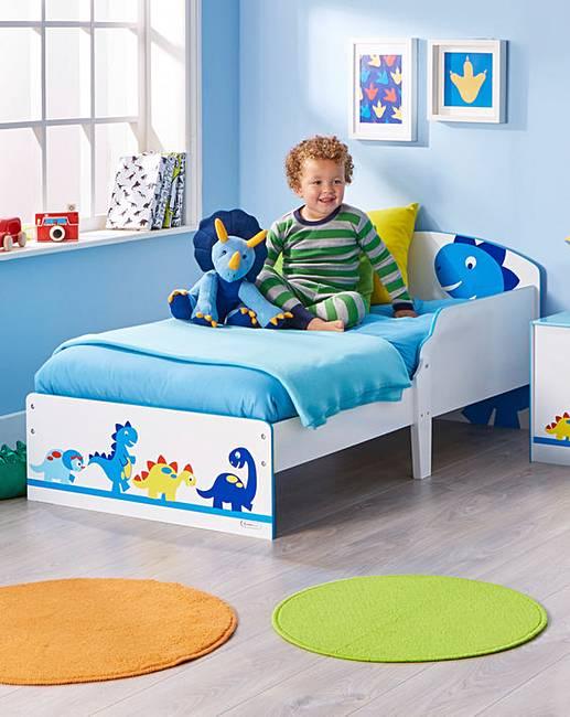 Dinosaur Toddler Bed   Fashion World
