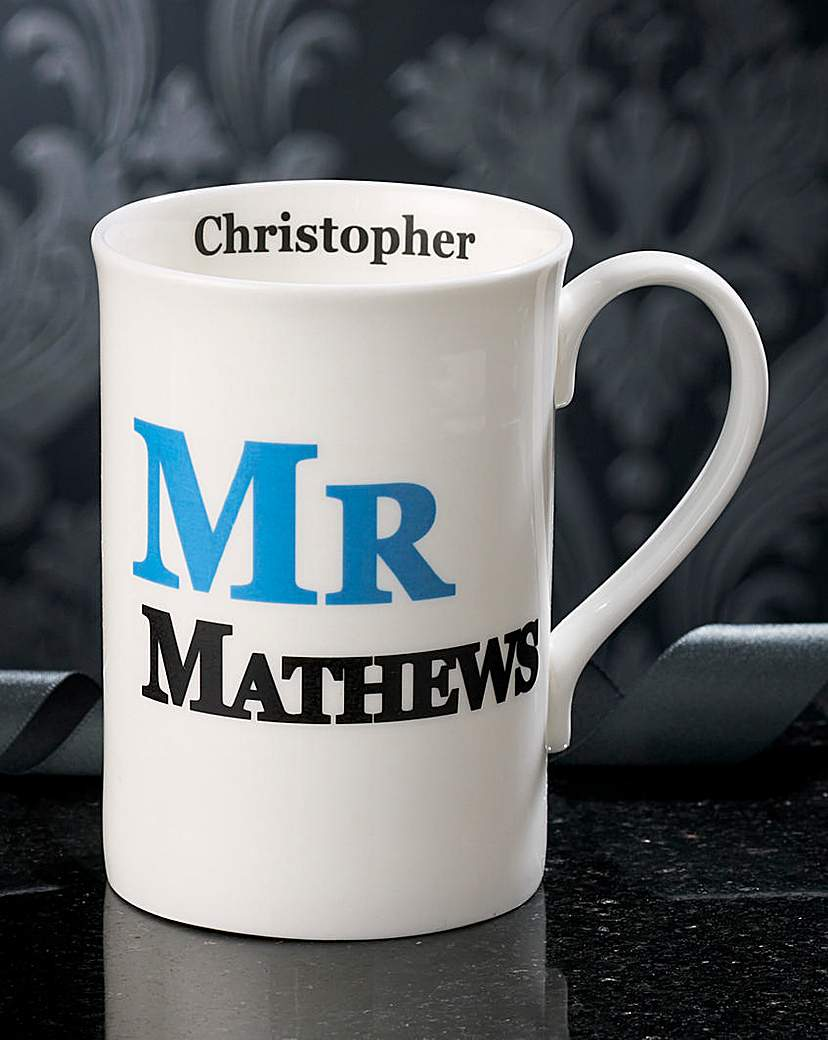 Image of Personalised Mr Mug