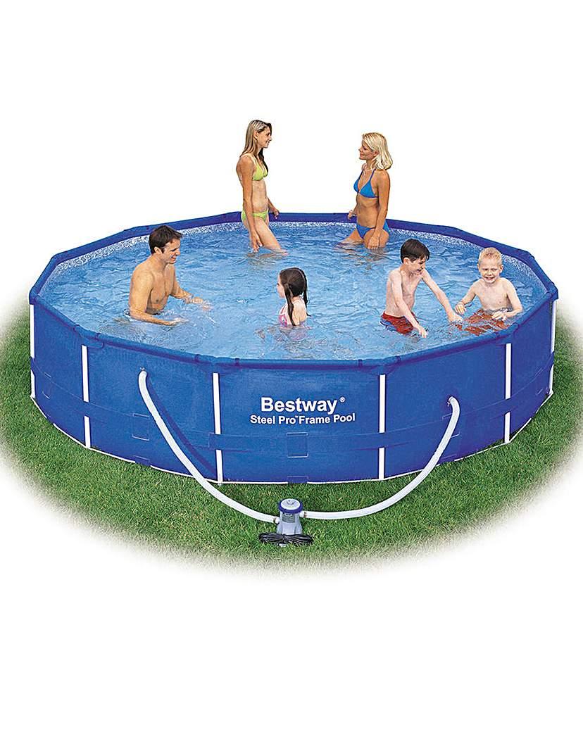 Image of Bestway 12 Foot Steel Frame Pool