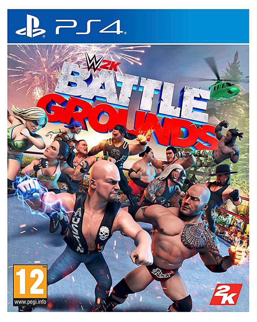 WWE 2K Battlegrounds (PS4)