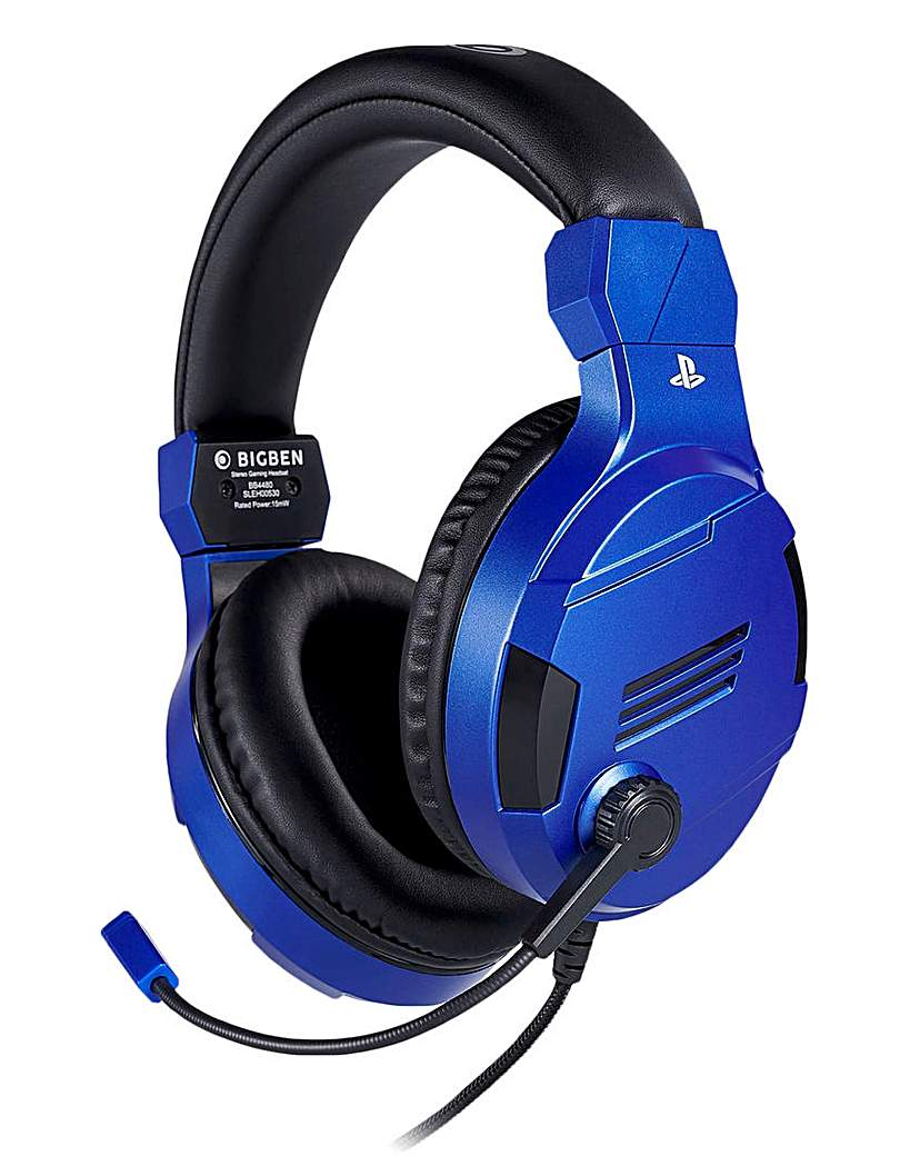 PS4 Official Stereo Gaming Headset Blue