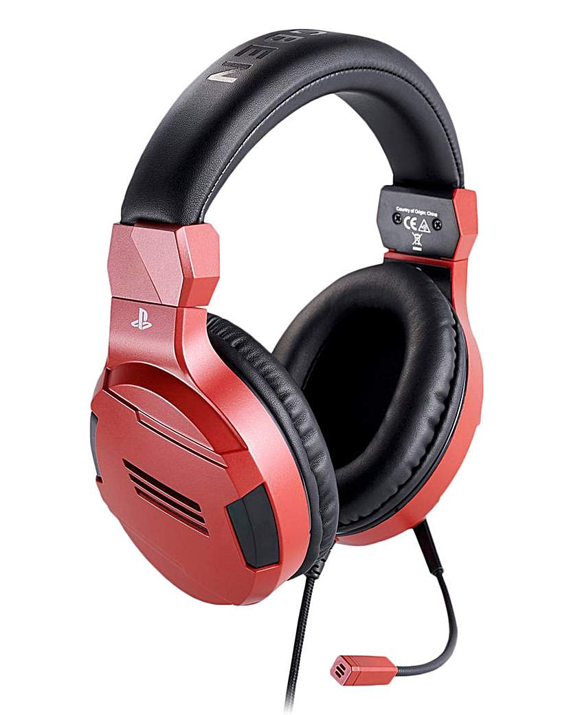 PS4 Official Stereo Gaming Headset Red