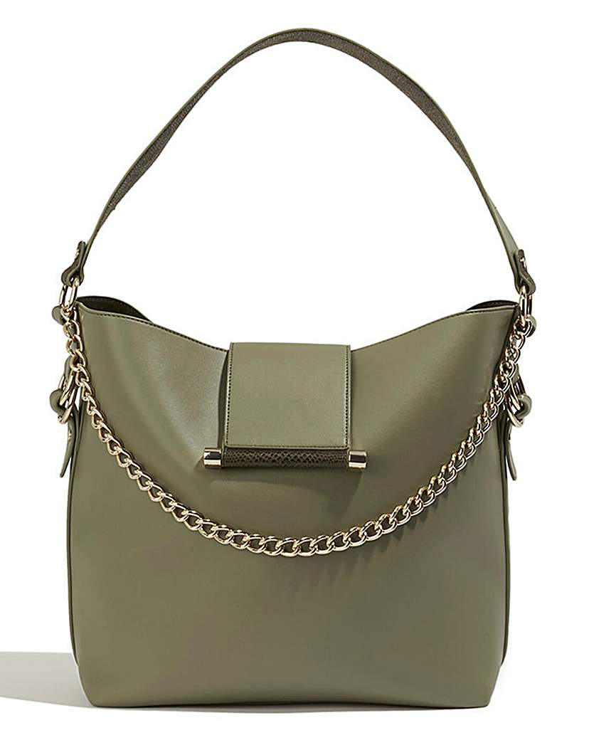 Oasis Oasis Chain Detail Hobo Bag