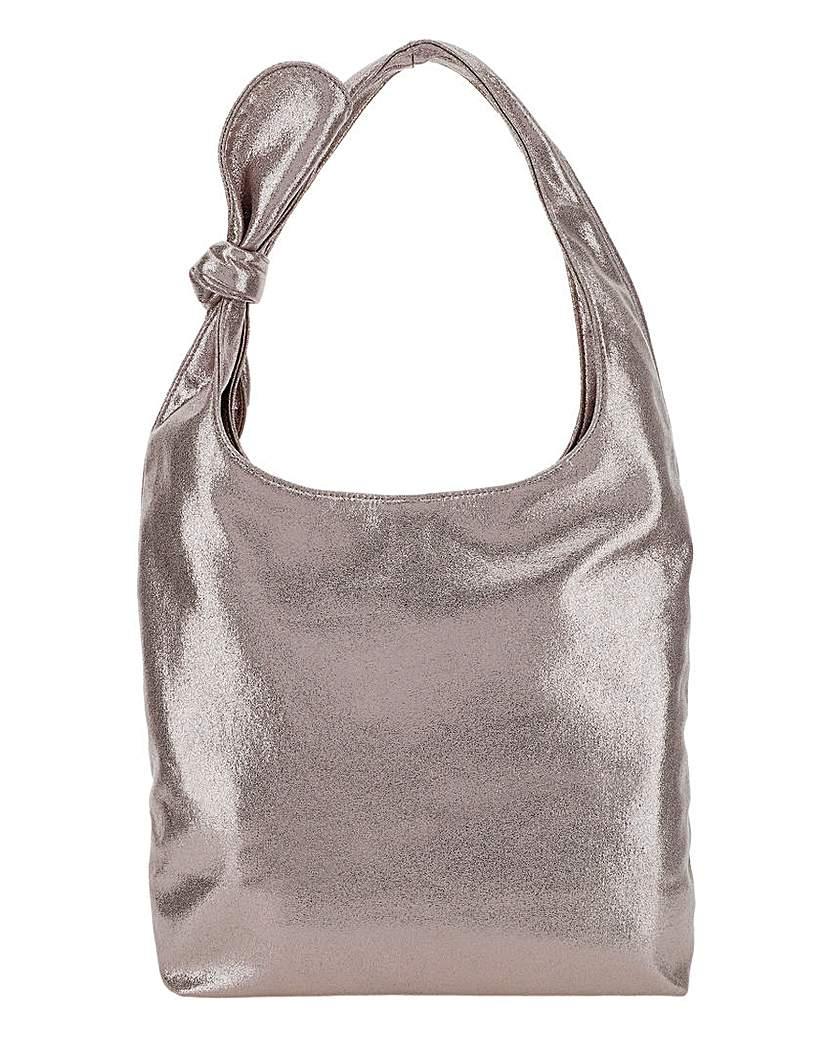 Joanna Hope Joanna Hope Metallic Casual Tote Bag