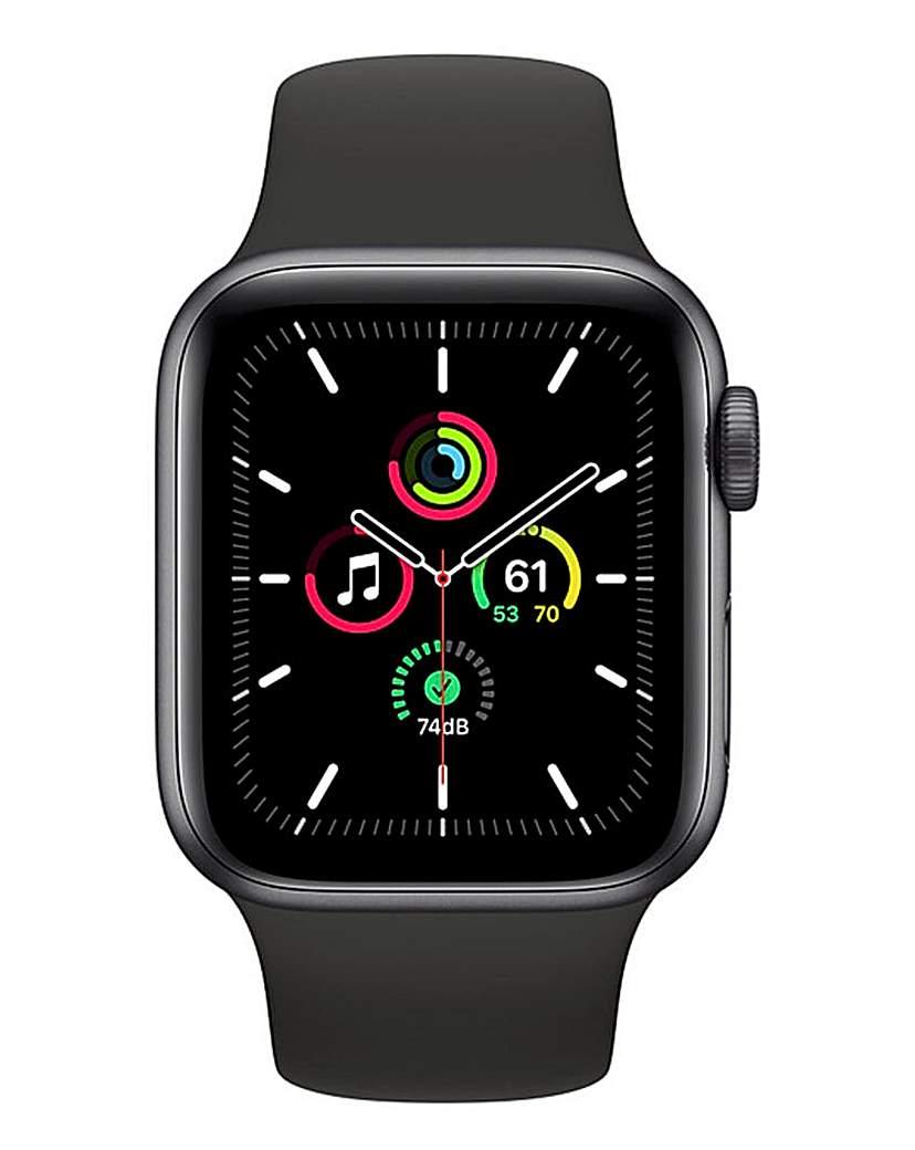 Apple Apple Watch SE 44mm GPS Black Sport Band