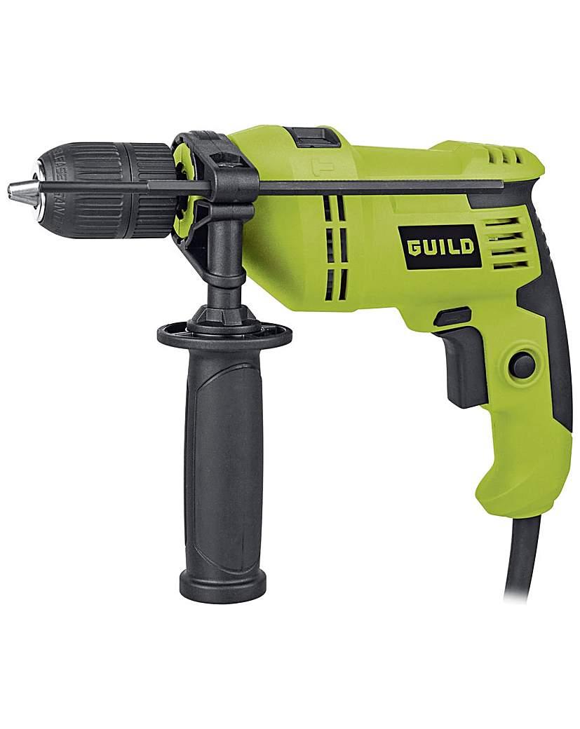 Guild 13mm Keyless Corded Hammer Drill