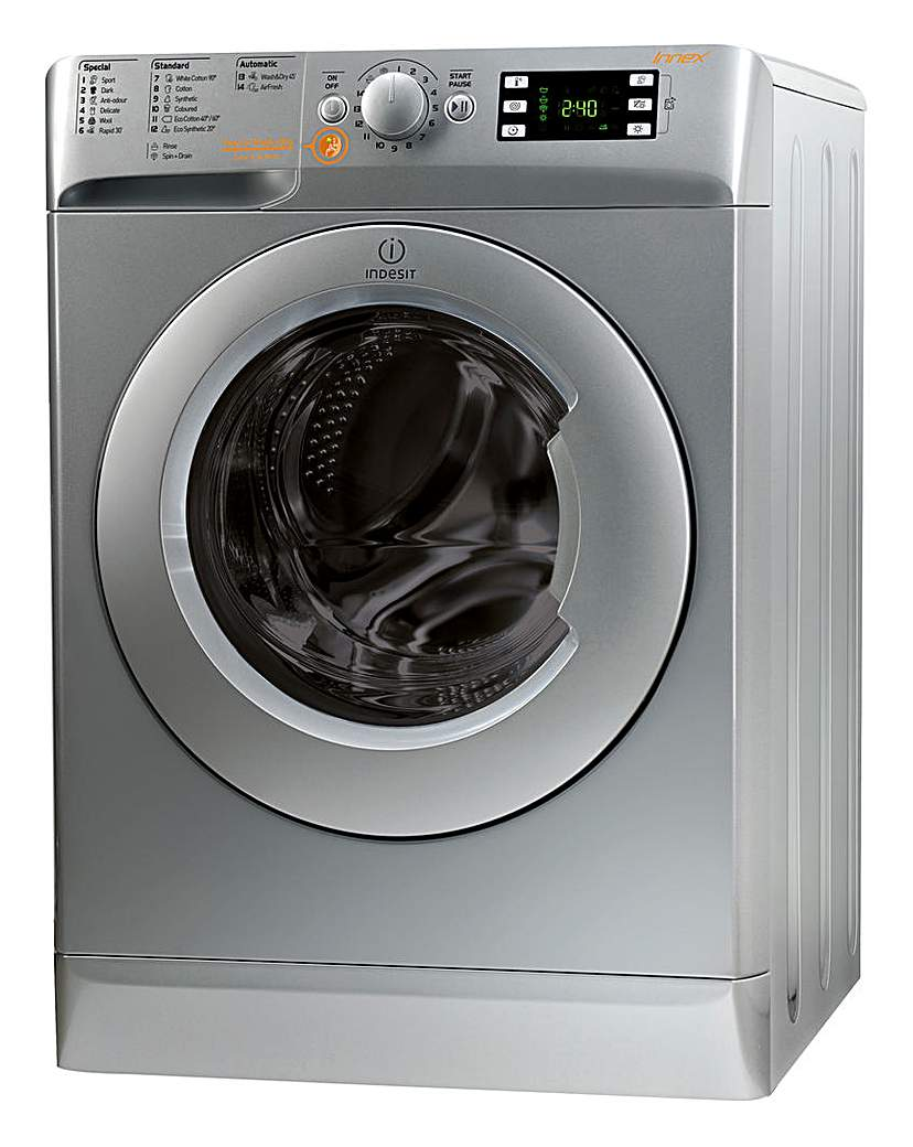 Indesit XWDE861480XS 8+6kg Washer Dryer