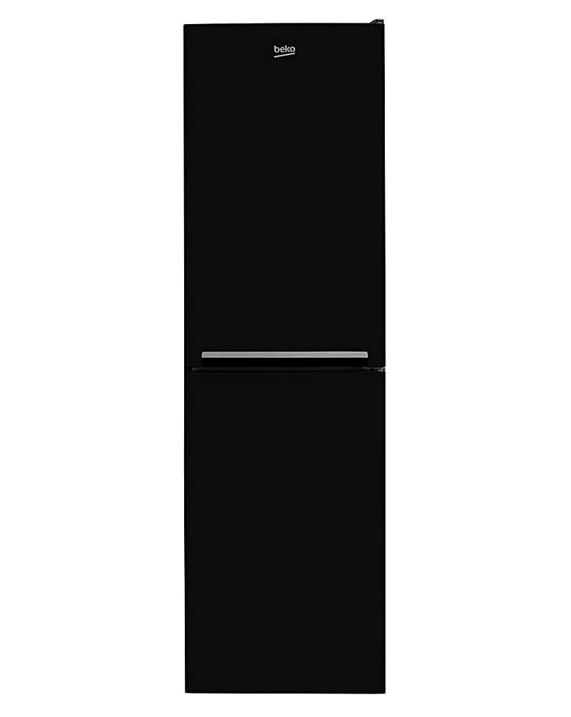 BEKO 50/50 Fridge Freezer Black