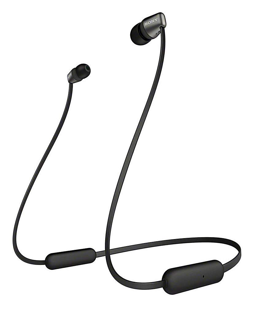 Sony WIC310B Wireless Headphones