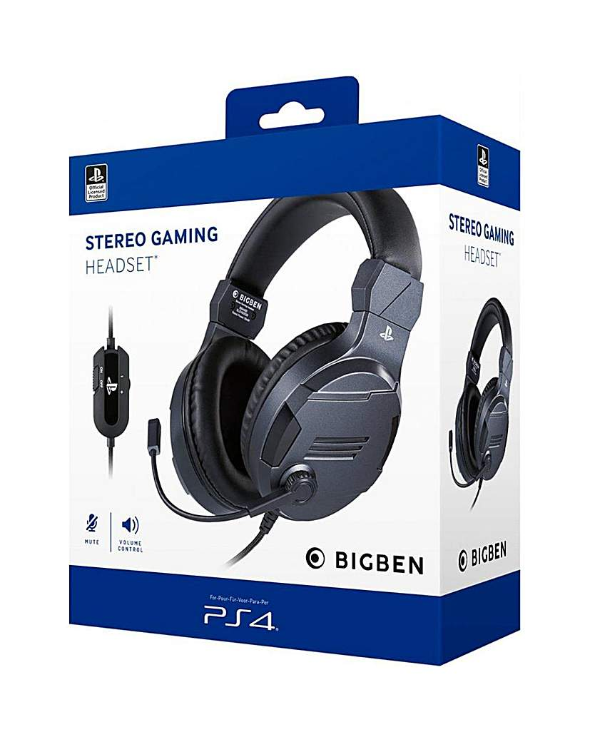PS4 Official Stereo Gaming Headset Titan