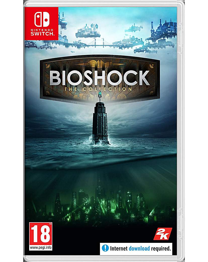 BioShock The Collection Code in a Box
