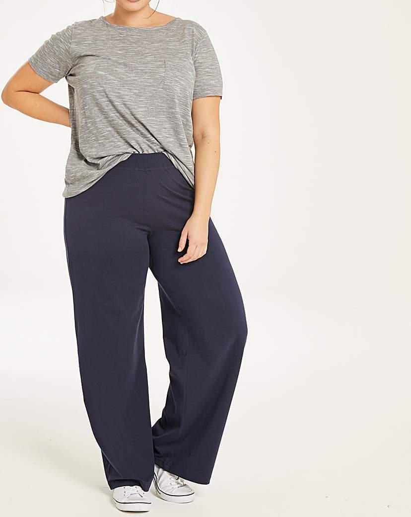 Capsule Leisure Wide Leg Loose Fit Lightweight Pant 29'