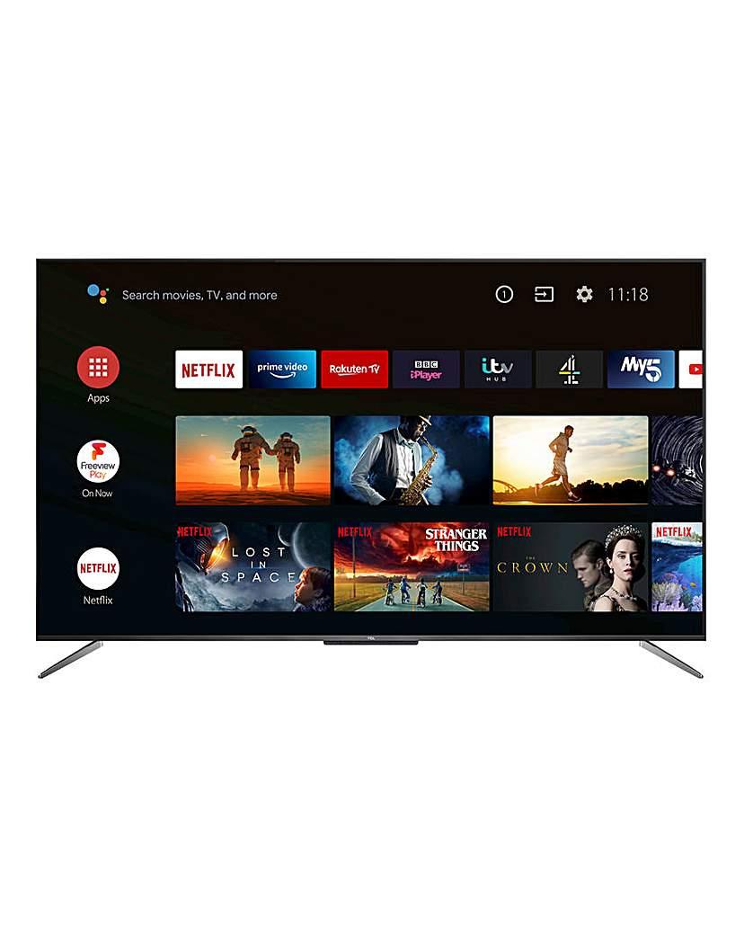 "TCL 50C715K 50 QLED TV"""