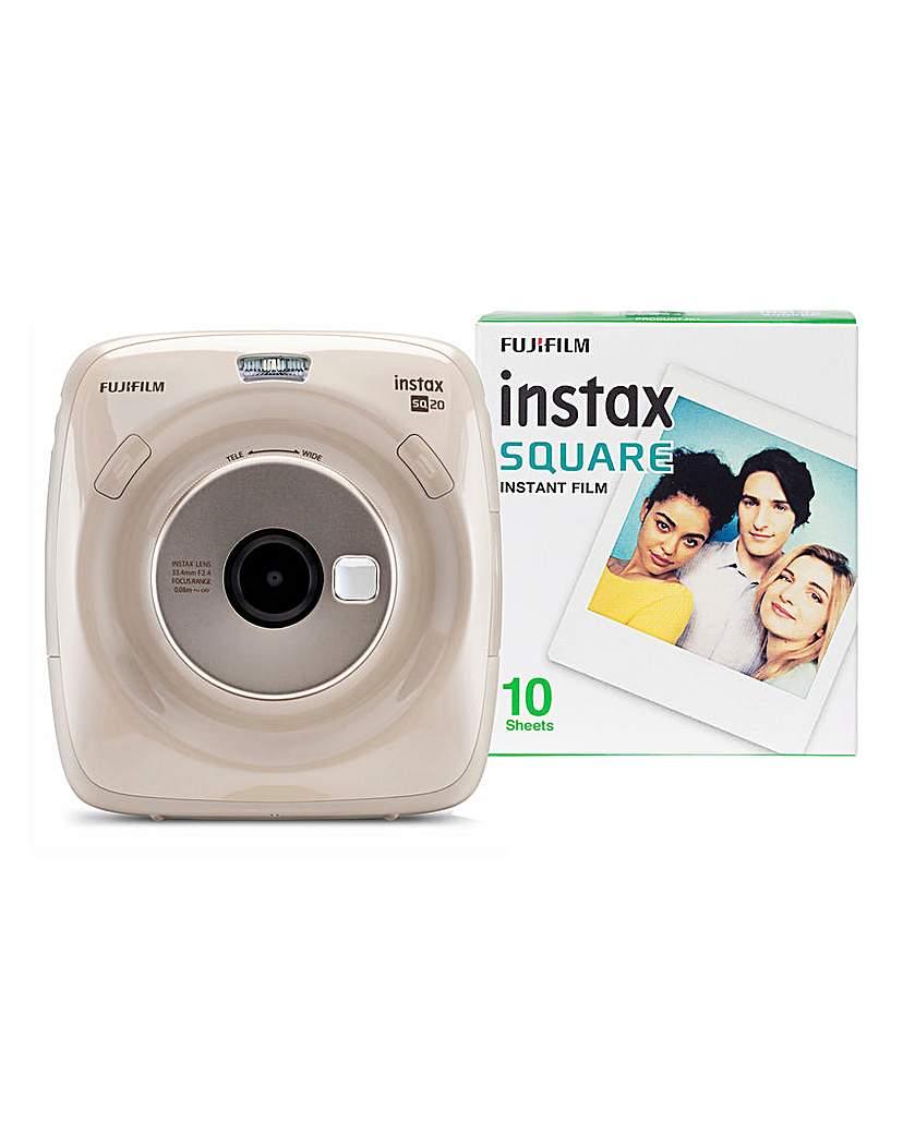 Fujifilm Instax Square SQ20 - 10 Shots