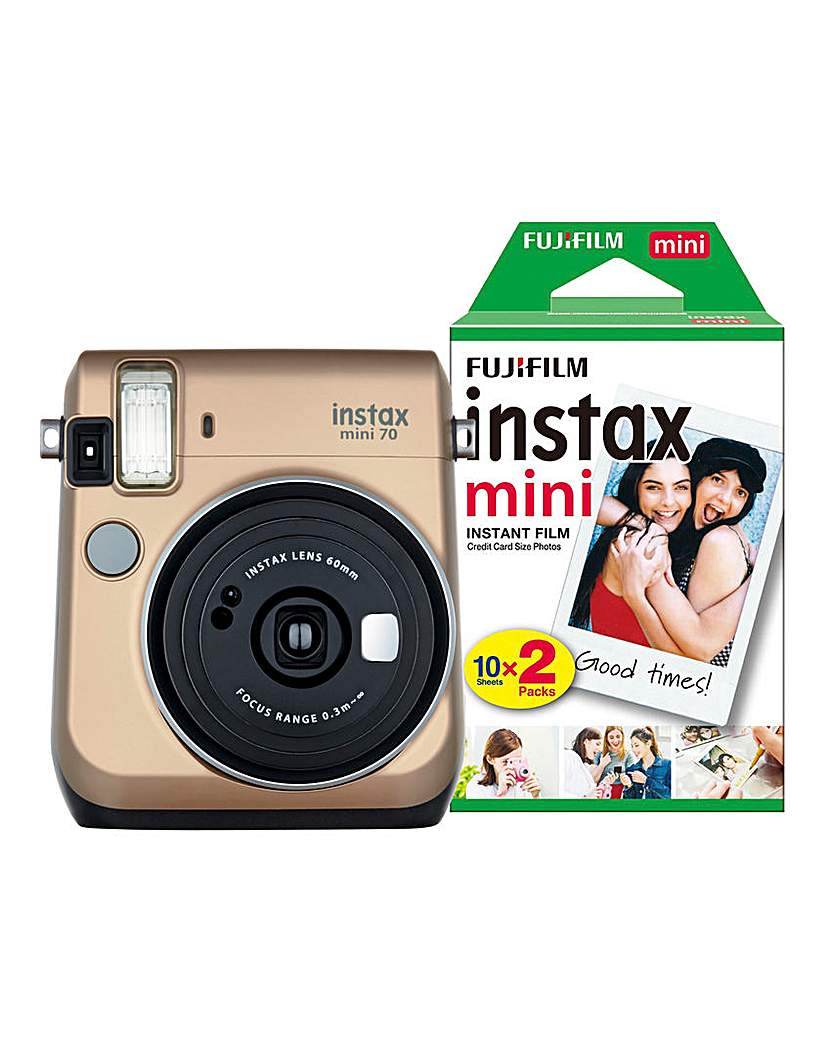 Fujifilm Instax Mini 70 - With 30 Shots