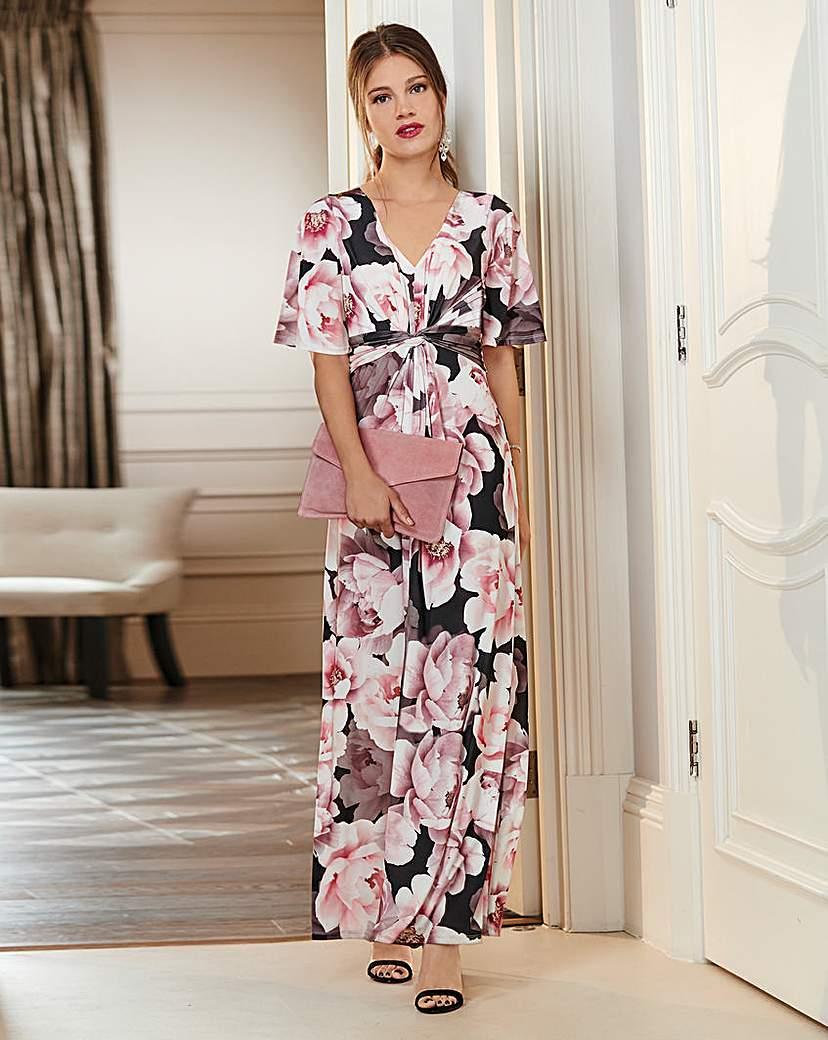 Together Together Floral Print Maxi Dress