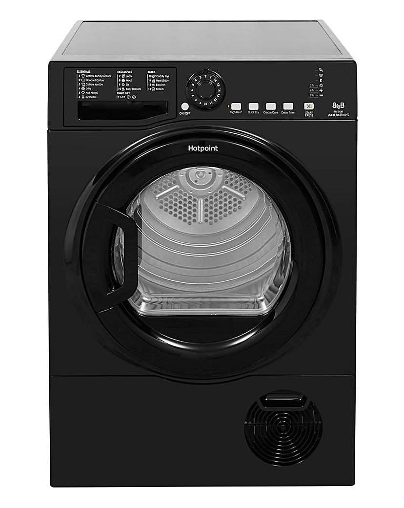 Hotpoint 8kg Condenser Dryer + INS