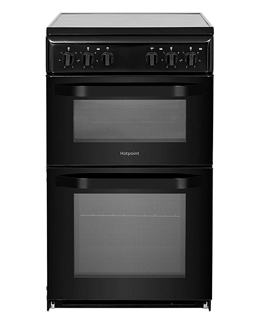 Hotpoint HD5V92KCB Electric Twin Cooker