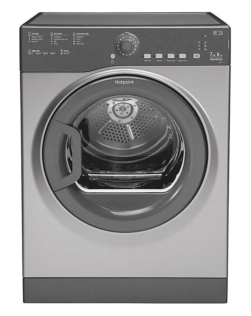Hotpoint Aquarius 7kg Vented Dryer