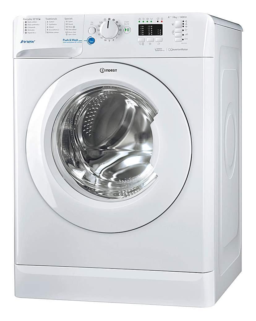 Indesit 8kg Washing Machine + Install
