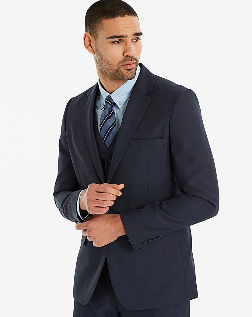 W&B London Navy Slim Value Suit Jacket R