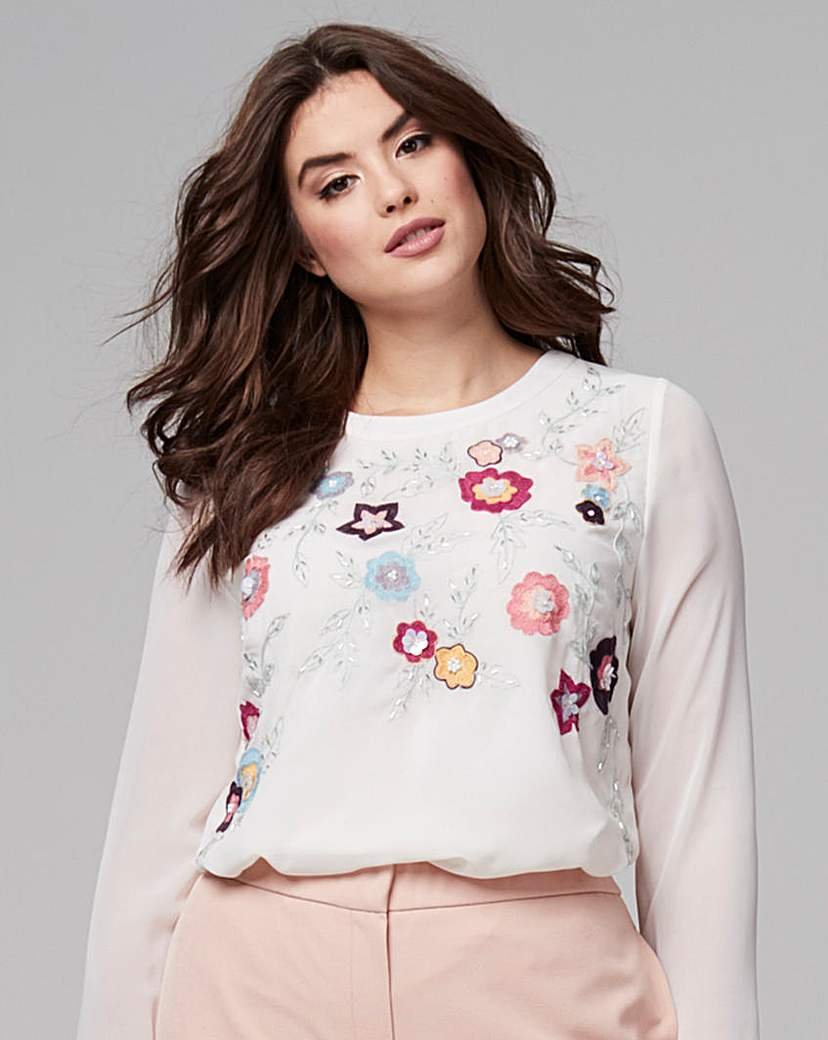 Capsule Embellished and Embroidered Top