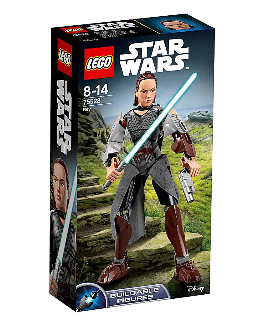 Image of LEGO Star Wars Constraction Rey