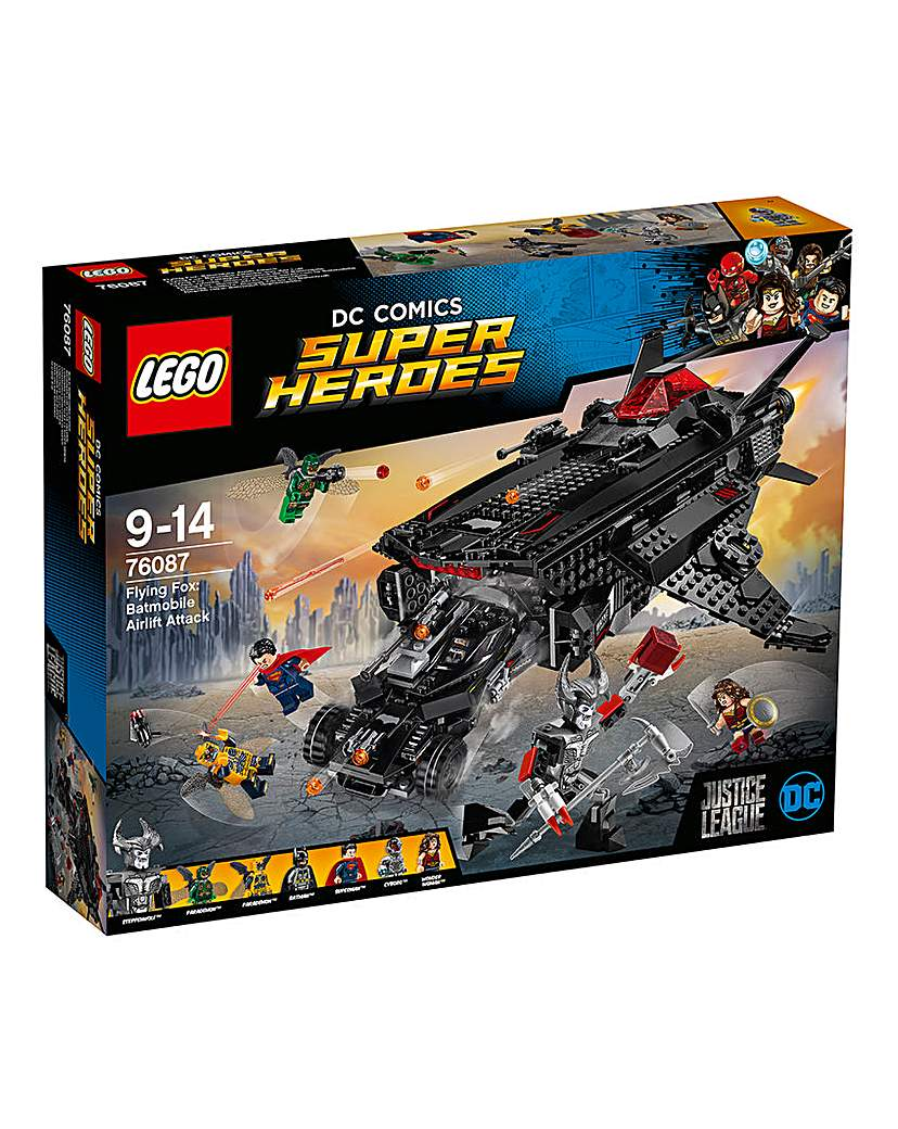 Image of LEGO DC Justice League Flying Fox