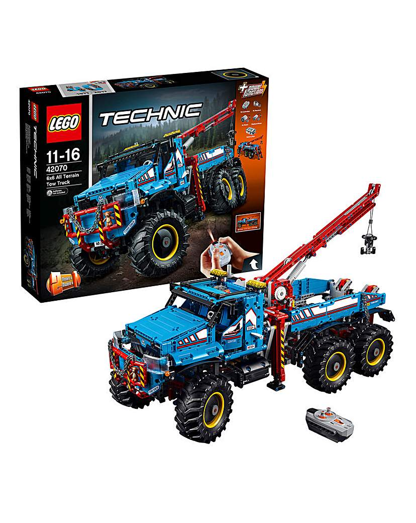 Image of LEGO Technic 6x6 All Terrain Truck RC