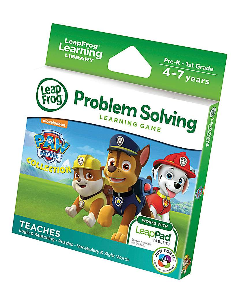 Image of LeapFrog Learning Game Paw Patrol