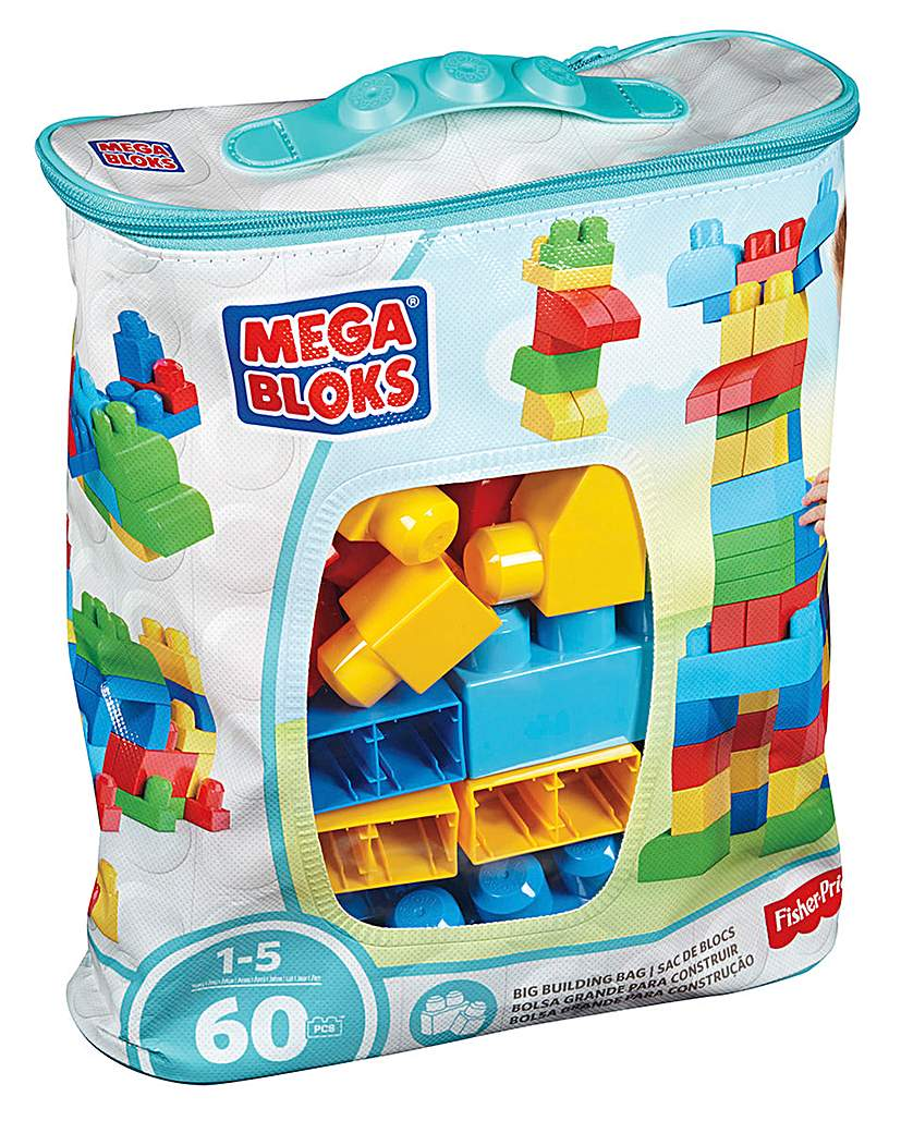 Image of Mega Bloks First Builders Building Bag