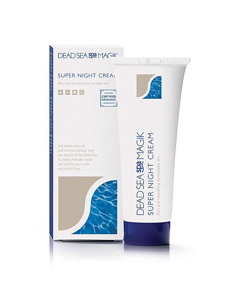 Dead Sea Spa Magik Dead Sea Spa Magik Super Night Cream 75m