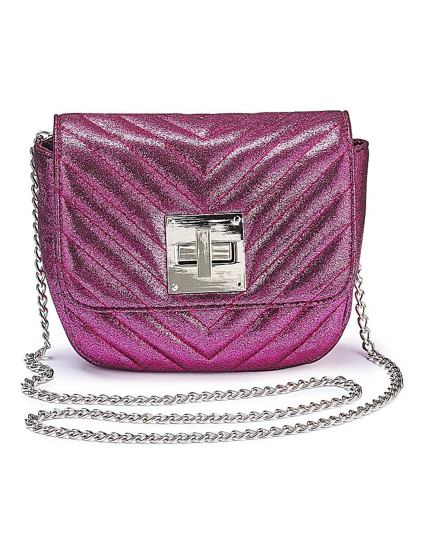 Capsule Carrie Pink Mini Quilted Shoulder Bag