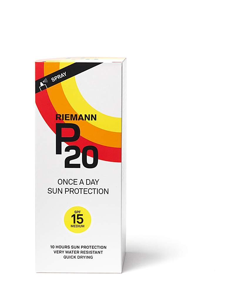 P20 P20 SPF15 Sun Protection Spray