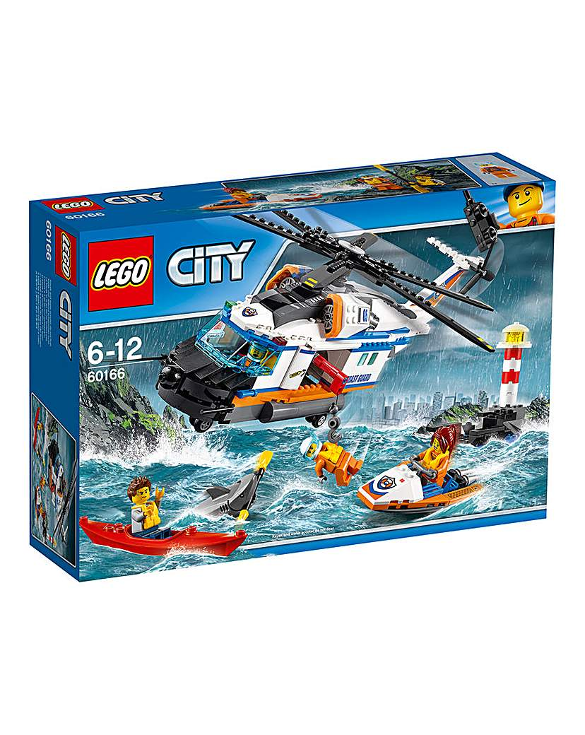 Image of LEGO City Coast Guard Rescue Helicopter