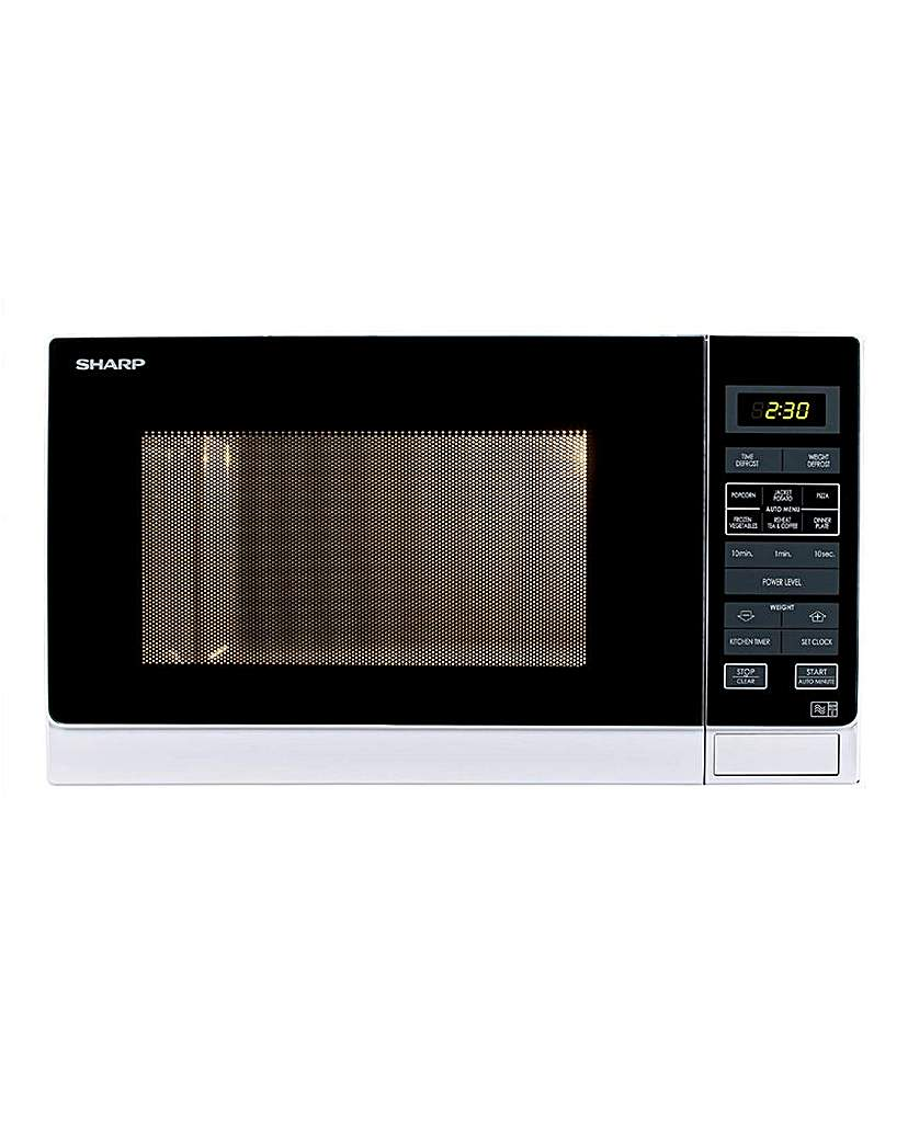 Sharp R372WM 25L Digital Microwave