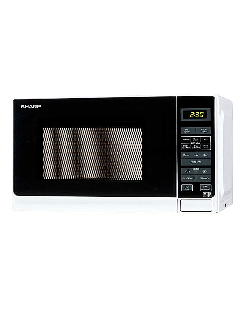 Sharp R272WH 20L Digital Microwave